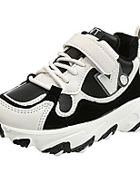 cheap -Boys' Girls' Trainers Athletic Shoes Comfort PU Little Kids(4-7ys) Big Kids(7years +) Daily Walking Shoes Black Purple Orange Spring Fall