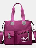 cheap -women large capacity waterproof nylon handbag shoulder bag