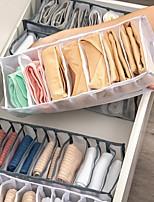 cheap -Underwear Storage Sock 3pcs Folding Divider Storage Drawers For Underwear BRA Socks 6  7  11 Grade Bathroom Storage Containers