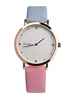 cheap -Vintage Design Leather Band Analog Alloy Quartz Wrist Watch