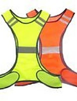 cheap -High VIS Reflective Vest Night Safety Work Vest Cycling Visibility Waistcoat Jacket For Sport Running