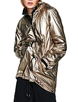 cheap -Women's Hiking Jacket Hiking Windbreaker Sport Athleisure Jacket Top Waterproof Lightweight Windproof Fishing Climbing Camping / Hiking / Caving Golden / Quick Dry / Breathable