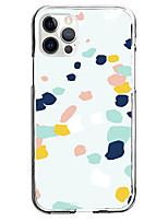 cheap -Embellished&Embroidered Case For Apple iPhone 12 iPhone 11 iPhone 12 Pro Max Unique Design Protective Case Shockproof Pattern Back Cover TPU