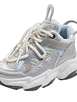cheap -Boys' Girls' Trainers Athletic Shoes Comfort Mesh Little Kids(4-7ys) Big Kids(7years +) Daily Walking Shoes Blue Pink Gray Spring Fall