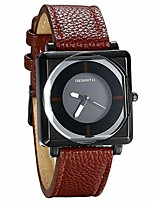 cheap -women watches square dial quartz watch stylish leather strap causal wristwatches