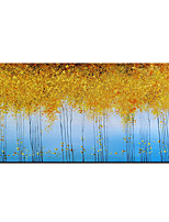 cheap -100% Hand-Painted Contemporary Art Oil Painting On Canvas Modern Paintings Home Interior Decor Golden Tree Art Painting Large Canvas Art(Rolled Canvas without Frame)