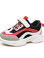 cheap -Boys' Girls' Trainers Athletic Shoes Comfort PU Little Kids(4-7ys) Big Kids(7years +) Daily Walking Shoes Red Pink Spring Fall