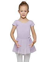 cheap -Dance Leotard with Skirt for Girls by Mdnmd (Tag16) Age 12-14, Lilac (Purple)