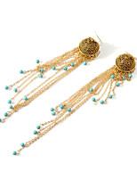cheap -Women's Hoop Earrings Geometrical Happy Stylish Simple Earrings Jewelry Gold / Silver For Daily Prom