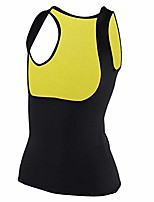 cheap -Waist Trainer Vest, Thermo Waist Trainer Corset Lightweight Quick Dry Women Slimming Vest Sweat Vest, Sweat Sauna Body Shaper for Workout Fitness(L)