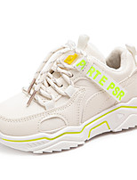 cheap -Boys' Girls' Trainers Athletic Shoes Comfort PU Little Kids(4-7ys) Big Kids(7years +) Daily Walking Shoes Blue Orange Beige Spring Fall