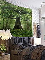 cheap -Wall Tapestry Art Decor Blanket Curtain Hanging Home Bedroom Living Room Decoration Forest View