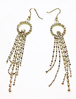 cheap -Women's Drop Earrings Tassel Fringe Precious Fashion Earrings Jewelry Gold For Christmas Party Evening Street Gift Date 1 Pair