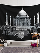 cheap -Wall Tapestry Art Decor Blanket Curtain Hanging Home Bedroom Living Room Decoration Polyester Taj Mahal