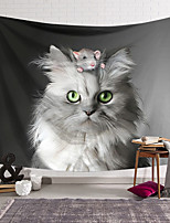 cheap -Wall Tapestry Art Decor Blanket Curtain Hanging Home Bedroom Living Room Decoration Cute White Cat