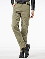 cheap -Men's Hiking Pants Trousers Hiking Cargo Pants Solid Color Summer Outdoor Tailored Fit Waterproof Ultra Light (UL) Antistatic Quick Dry Spandex Pants / Trousers Army Green Khaki Royal Blue Hunting
