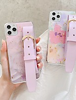 cheap -pu leather belt case for apple iphone 12 11 8 plus shockproof back cover heart tpu case for iphone xr xs max 7 plus