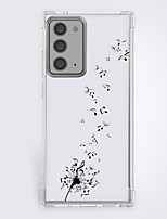 cheap -cartoon dandelion fashion case for Samsung Galaxy S21 20 plus s20 ultra Note 20 10 S20 FE design protective case shockproof back cover tpu