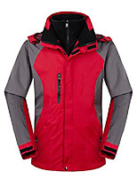 cheap -Zity Men's 3 in 1 Ski Jacket Outdoor Jacket with Waterproof & Windproof Feature (By UPS 2-7 DAYS) (Red, Small)