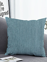 cheap -1 pcs Polyester Pillow Cover & Insert, Solid Colored Simple Classic Square Zipper Polyester Traditional Classic