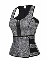 cheap -Mens Waist Trainer for Weight Loss, Shaping Vest Breathable Adjustable Slimming Workout Sportswear, Waist Trainer Sweat Vest for Men, Sauna Tank Top, Workout Corset