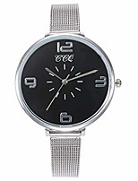 cheap -CCQ Casual Quartz Stainless Steel Band New Strap Watch Analog Wrist Watch (Black)