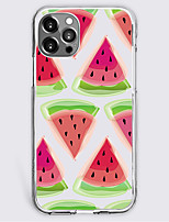 cheap -Fashion Fruit Case For Apple iPhone 12 iPhone 11 iPhone 12 Pro Max Unique Design Protective Case Shockproof Back Cover TPU