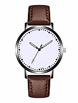 cheap -Classic New Men Watch Wrist Watch Leather Strap Quartz Casual Watches