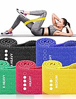 cheap -Resistance Bands for Women Butt and Legs, Booty Bands, Non Slip Elastic Exercise Workout Bands (Colorful)