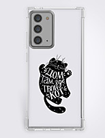 cheap -cartoon black cat fashion case for Samsung Galaxy S21 20 plus s20 ultra Note 20 10 S20 FE design protective case shockproof back cover tpu