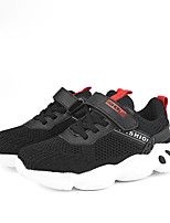 cheap -Boys' Girls' Trainers Athletic Shoes Comfort Mesh Little Kids(4-7ys) Big Kids(7years +) Daily Walking Shoes Black Red Gray Spring Fall