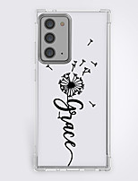 cheap -dandelion fashion case for Samsung Galaxy S21 20 plus s20 ultra Note 20 10 S20 FE design protective case shockproof back cover tpu