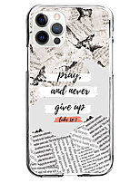 cheap -never give up instagram style case for apple iphone 12 iphone 11 iphone 12 pro max unique design protective case shockproof back cover tpu celebrity hot style case