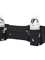 cheap -Running Belt with Water Bottle Holder for Runners Running Walking, Waterproof Waist Pack for Women Men with Adjustable Block Pink