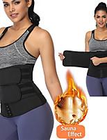 cheap -Female Restraint Belt Body Shaping Sweaty Waist Belt Adjustable Neoprene Slimming Belly Shapewear