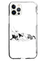 cheap -Novelty Fashion Case For Apple iPhone 12 iPhone 11 iPhone 12 Pro Max Unique Design Protective Case Shockproof Back Cover TPU