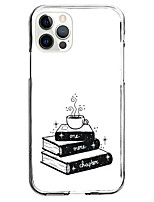 cheap -coffee book fashion case for apple iphone 12 iphone 11 iphone 12 pro max instagram style case unique design protective case shockproof back cover tpu