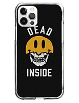 cheap -skull phrase fashion case for apple iphone 12 iphone 11 iphone 12 pro max unique design protective case shockproof back cover tpu celebrity hot style