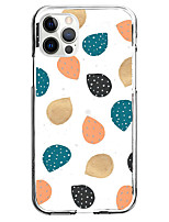 cheap -Geometry Case For Apple iPhone 12 iPhone 11 iPhone 12 Pro Max Unique Design Protective Case Shockproof Pattern Back Cover TPU