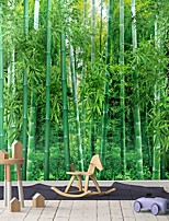cheap -Bamboo Forest Wallpaper Self-Adhesive Removable Peel and Stick Wallpaper Decorative Wall Covering for Wall Surface Cover Easy to Apply
