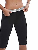 cheap -Sauna Shorts for Women Weight Loss Plus Size, Hot Body Shaper Shorts Sweat Suit Workout Slimmer Leggings Fat Burner Shapewear4XL