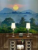 cheap -Mountain Landscape Wallpaper Self-Adhesive Removable Peel and Stick Wallpaper Decorative Wall Covering for Wall Surface Cover Easy to Apply