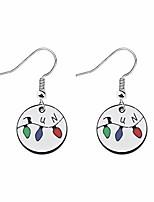 cheap -mysomy stranger things inspired jewelry party lights run earrings stranger things fans gift (lights run earring)