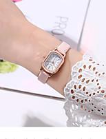 cheap -Women's Quartz Watches Quartz Stylish Fashion Creative Analog Red Blushing Pink Green / One Year / PU Leather