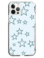 cheap -blue star fashion instagram style case for apple iphone 12 iphone 11 iphone 12 pro max unique design protective case shockproof back cover tpu