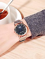 cheap -Women Girl Watch Simple Casual Exquisite All-Match Round Dial Steel Belt Bracelet Watch for Birthday Gifts