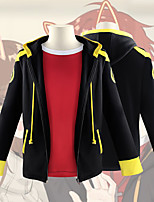 cheap -Inspired by Mystic Messenger 707 Anime Cosplay Costumes Japanese Cosplay Suits School Uniforms Coat T-shirt For Men's Women's