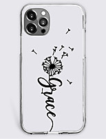 cheap -dandelion fashion case for apple iphone 12 11 se2020 unique design protective case shockproof back cover tpu case for iphone 12 pro max xr xs max iphone 8 plus 7