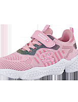cheap -Girls' Trainers Athletic Shoes Comfort Mesh Little Kids(4-7ys) Big Kids(7years +) Daily Walking Shoes Pink Gray Spring Fall