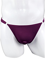 cheap -Men's 1 Piece Basic G-string Underwear - Normal Low Waist Purple One-Size